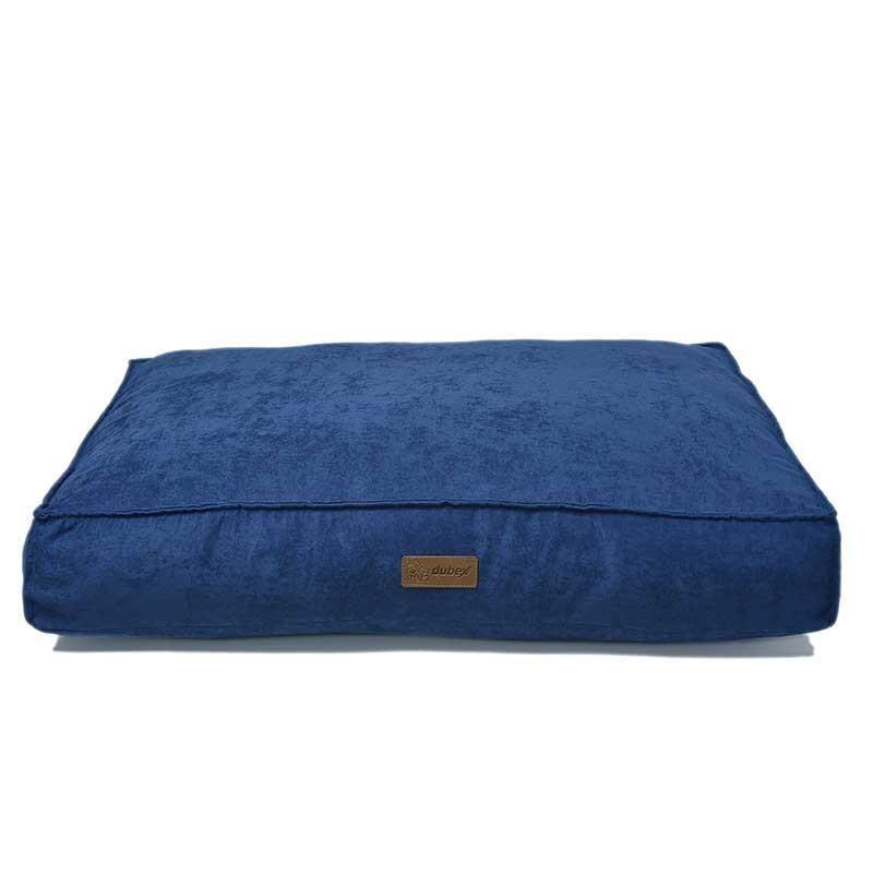 Dubex Soft Köpek Yatağı Saks Mavi Small