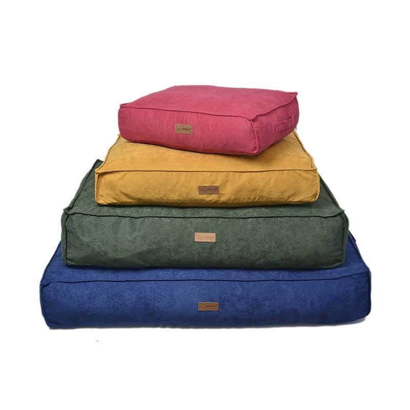 Dubex Soft Köpek Yatağı Koyu Yeşil Large