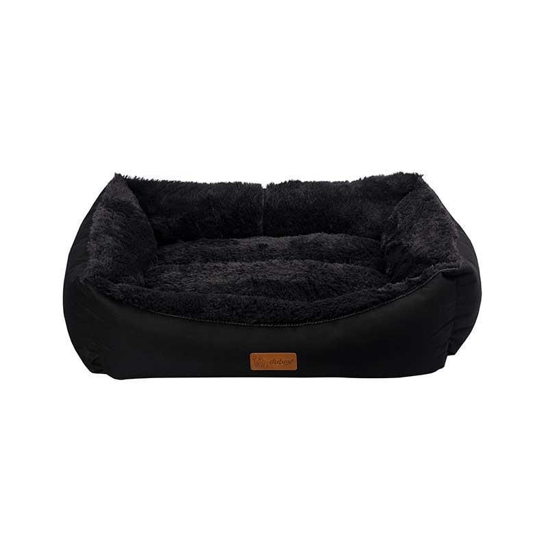 Dubex Jellybean Kedi Köpek Yatağı Siyah Large