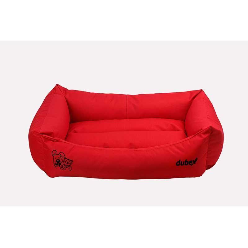 Dubex Gelato Kedi Köpek Yatağı Kırmızı XL