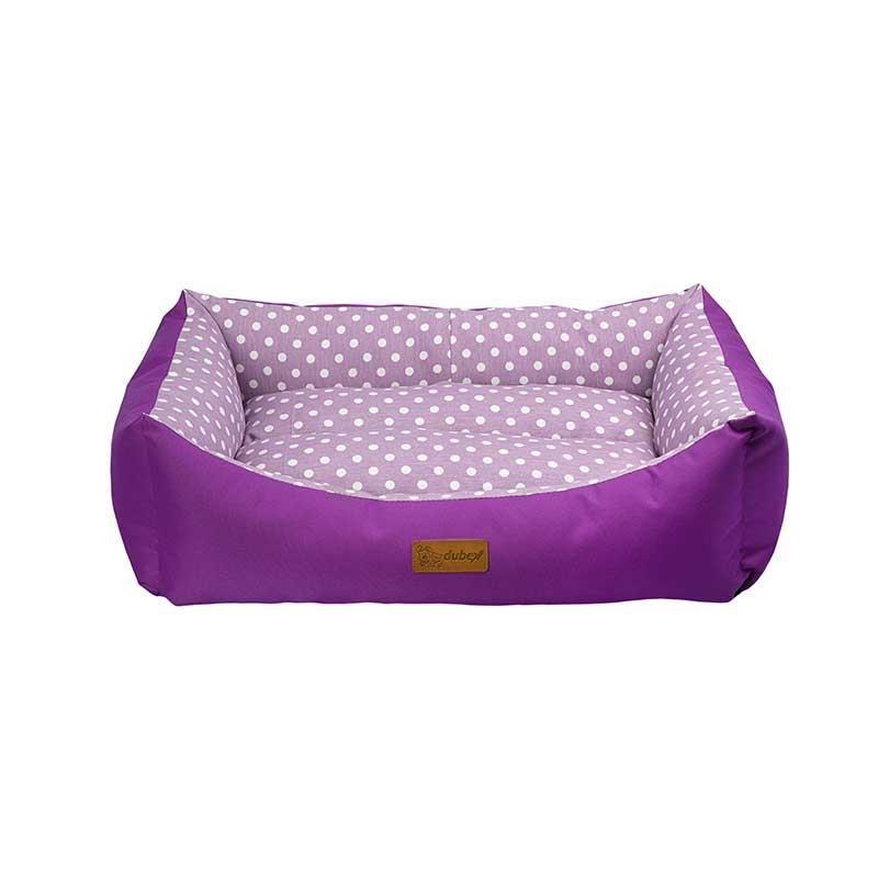 Dubex Tarte Kedi Köpek Yatağı Lila Benekli Small