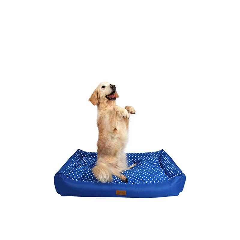 Dubex Tarte Kedi Köpek Yatağı Mavi Benekli Small