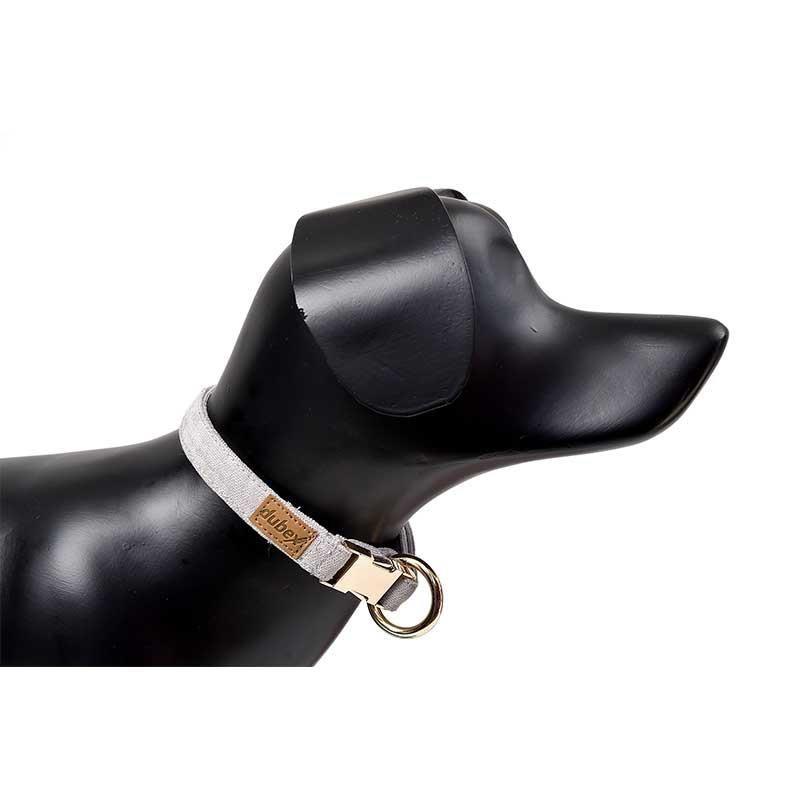 G-Dog Köpek Boyun Tasması Açık Gri XS-S