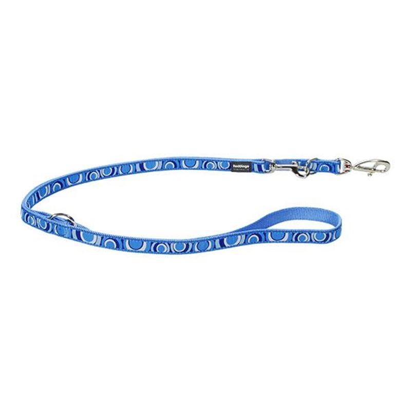 Reddingo Circadelic Desenli Mavi Çok Amaçlı Köpek Uzatma Tasması 25 Mm