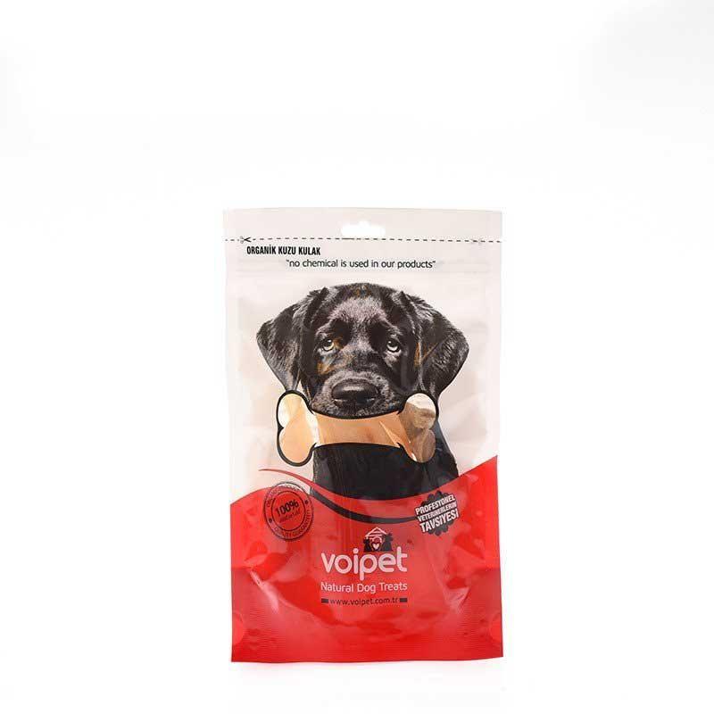 Voipet Köpek Ödülü Kurutulmuş Kuzu Kulak 100 gr