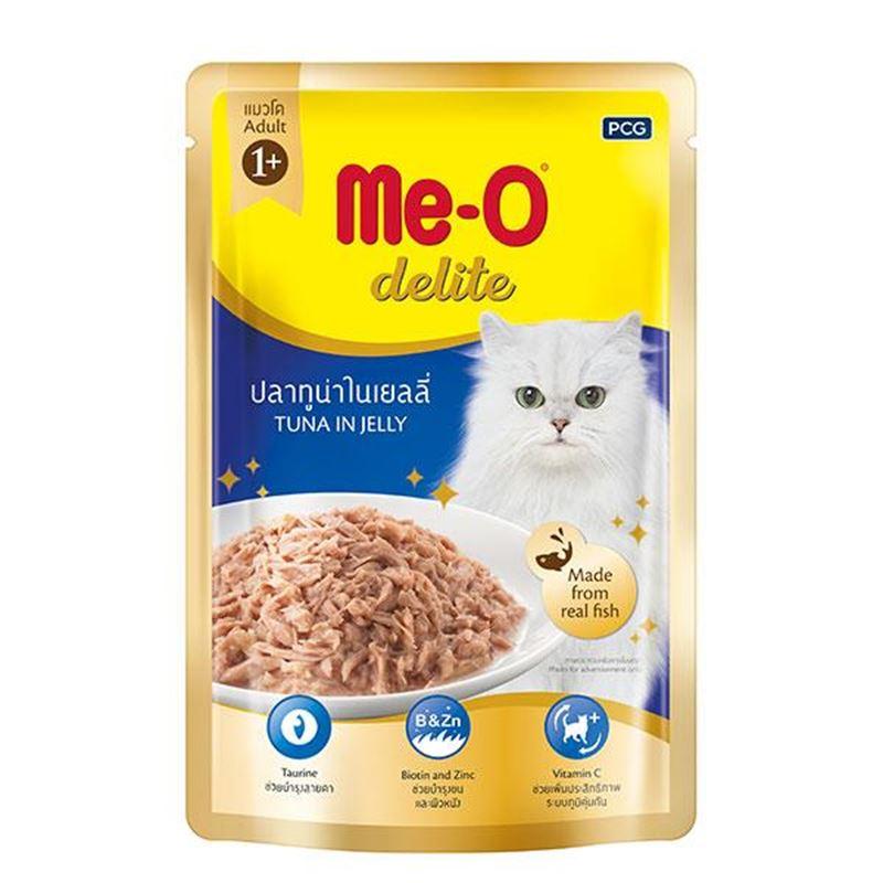 Meo Delite Pouch Ton Balıklı Kedi Konservesi 70 Gr