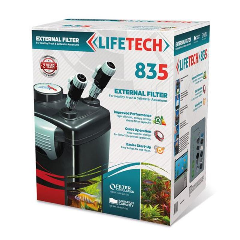 Life Tech 835 Dış Filtre 1000L/H