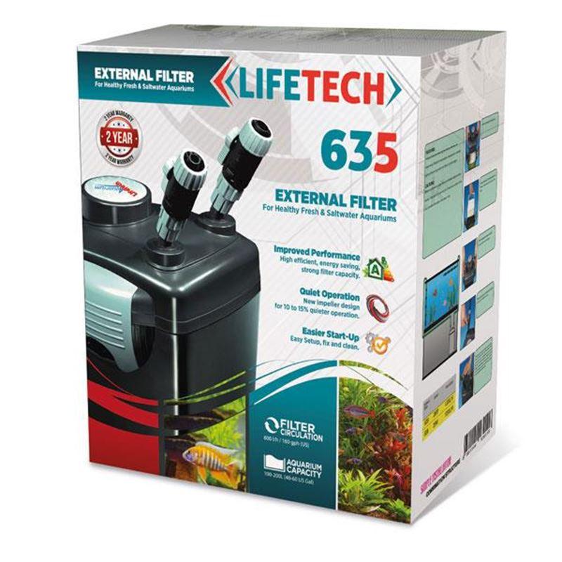 Life Tech 635 Dış Filtre 600L/H