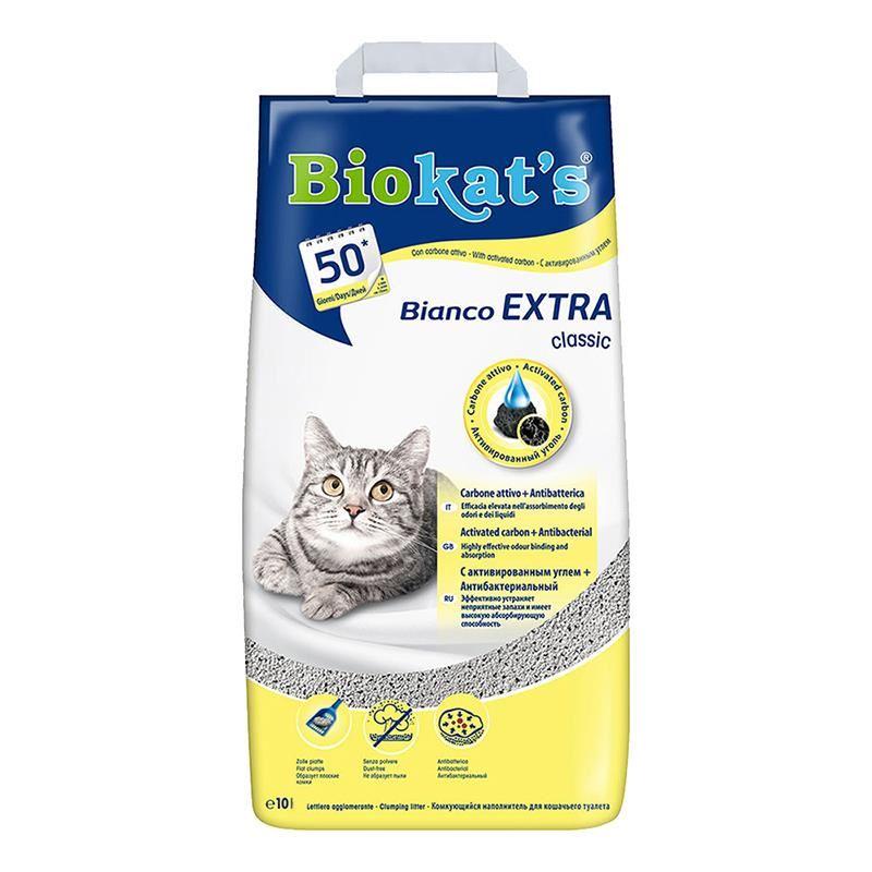 Biokats Bianco Extra Kedi Kumu 10 Lt