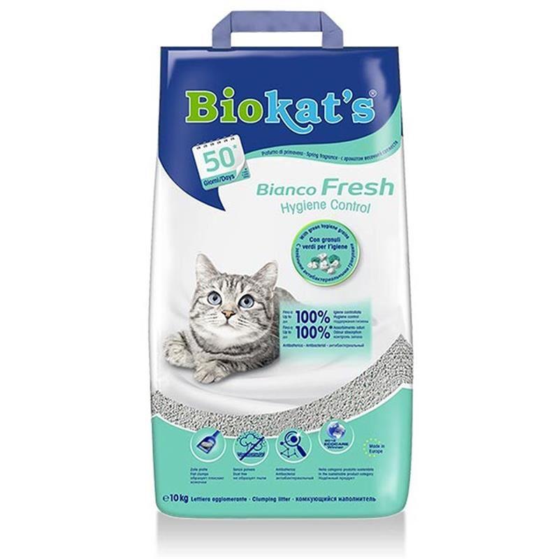 Biokats Bianco Fresh Kedi Kumu 10Lt
