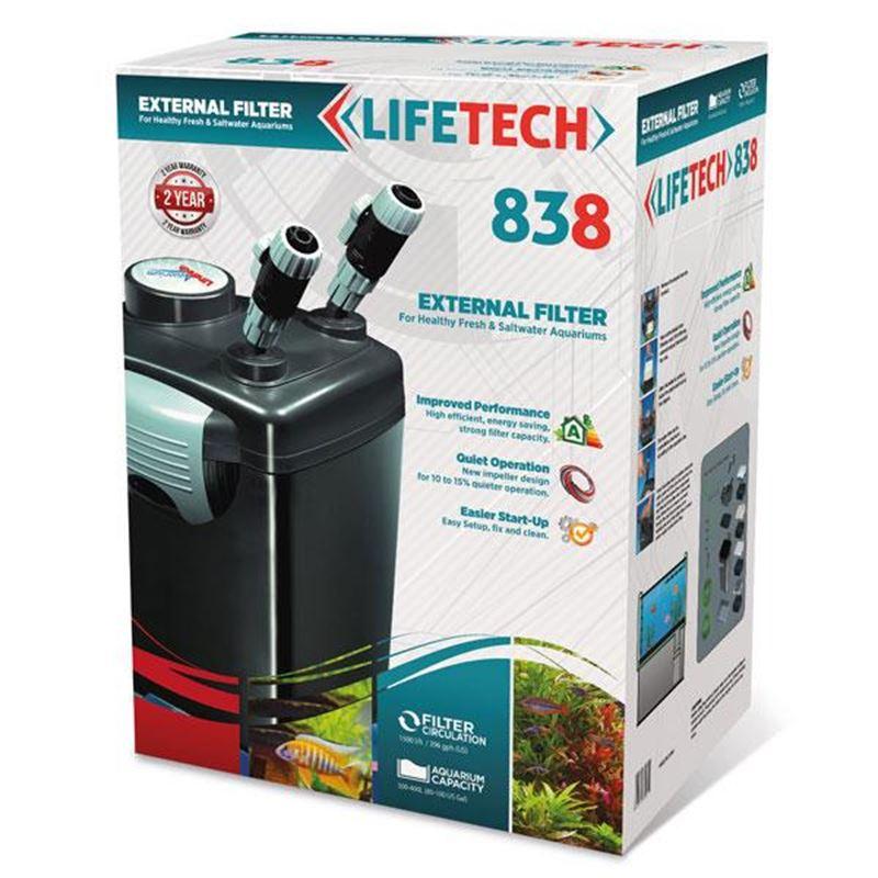 Life Tech 838 Dış Filtre 1200L/H