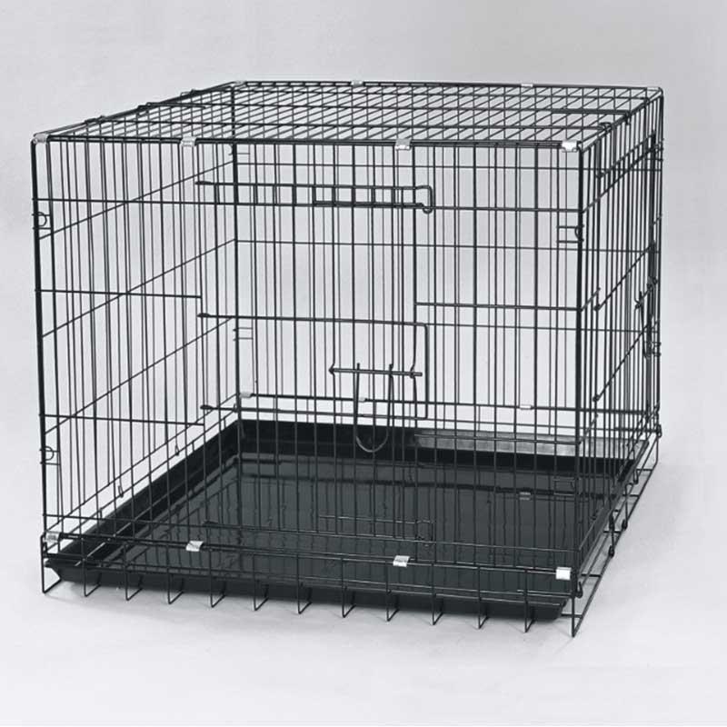 Dayang 043C Köpek Kafesi Siyah 93x56,5x63,5 Cm