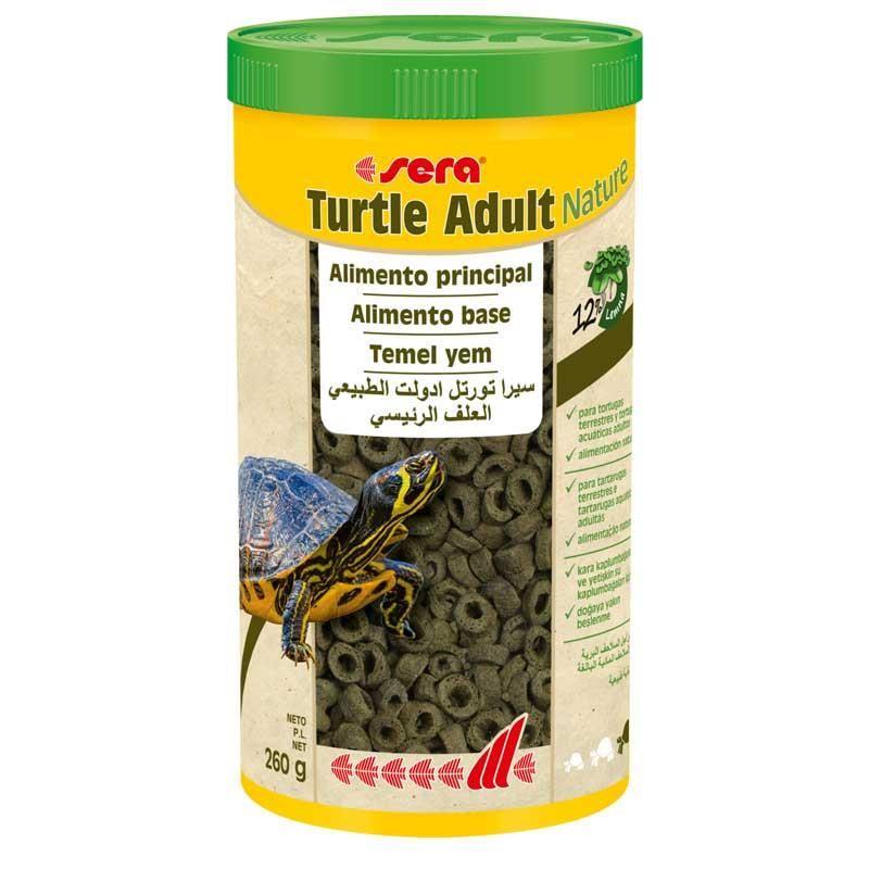 Sera Turtle Adult Nature Kaplumbağa Yemi 1000 ml