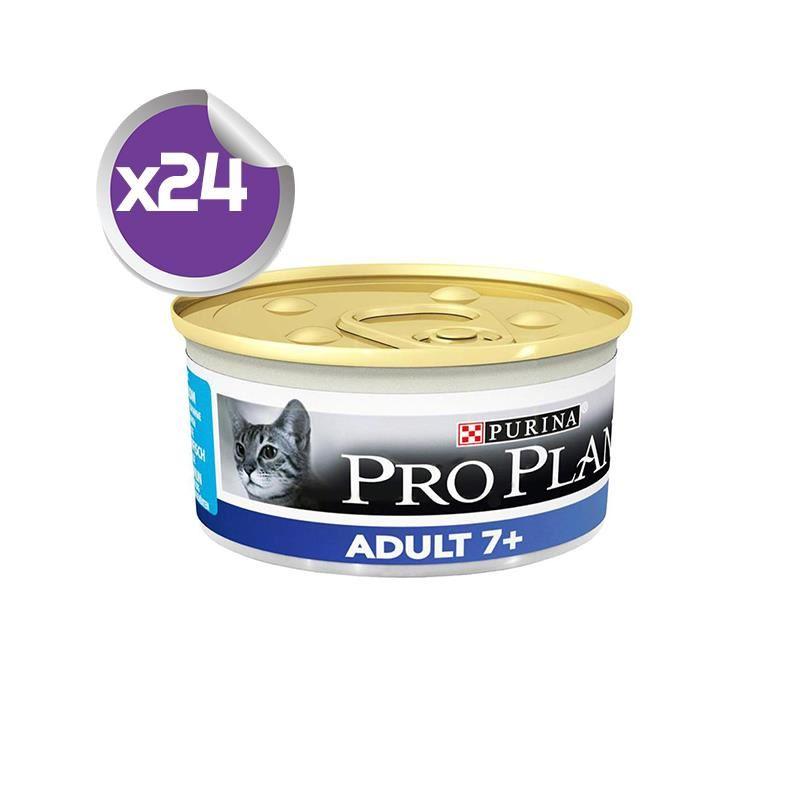 Proplan +7 Ton Balıklı Yaşlı Kedi Konservesi 85 Gr x24