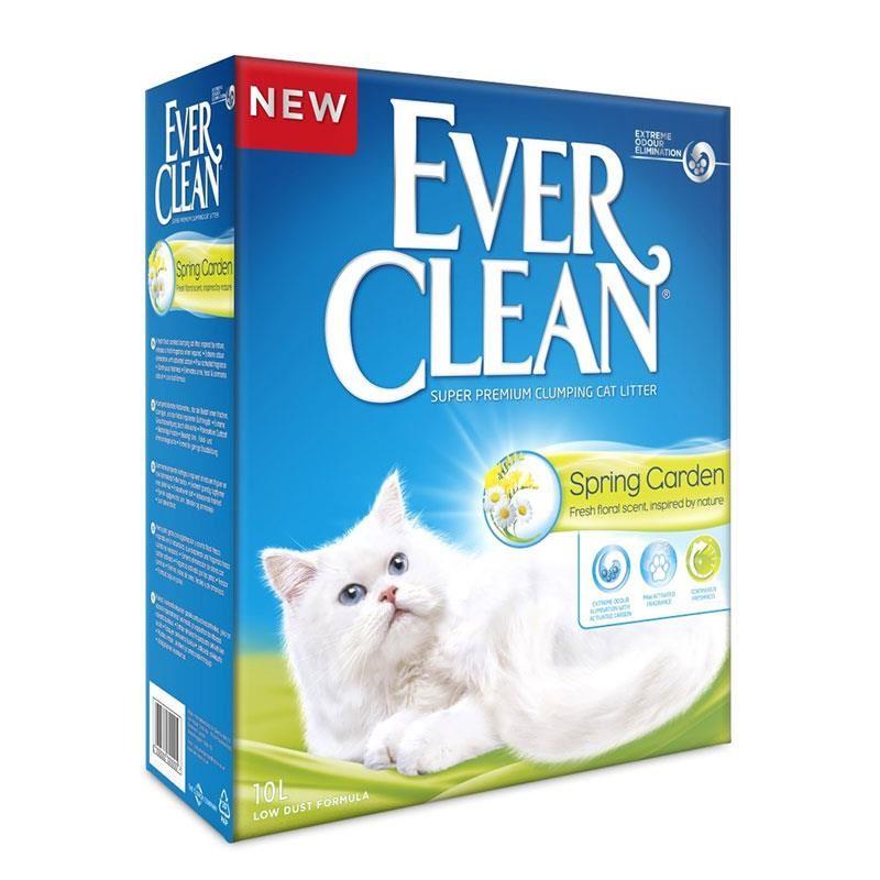 Ever Clean Spring Garden Çiçek Kokulu Topaklanan Kedi Kumu 10 Lt