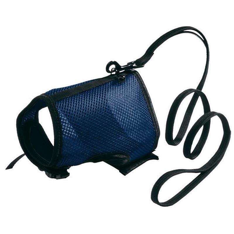 Ferplast Jogging Göğüs Tasması Ve Uzatma Seti Mavi (XL)