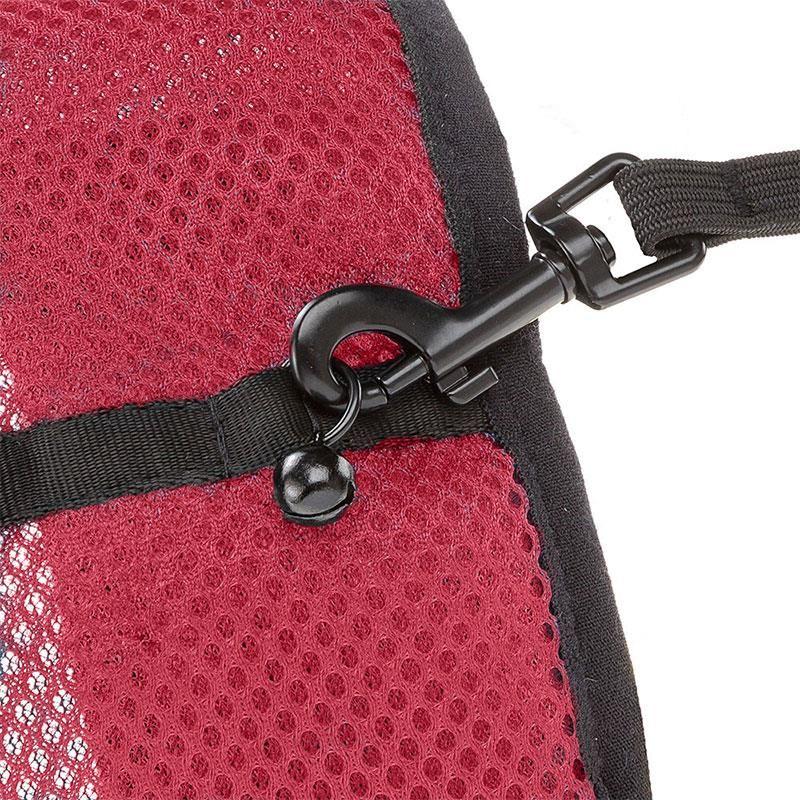 Ferplast Jogging Göğüs Tasması Ve Uzatma Seti Kırmızı Large