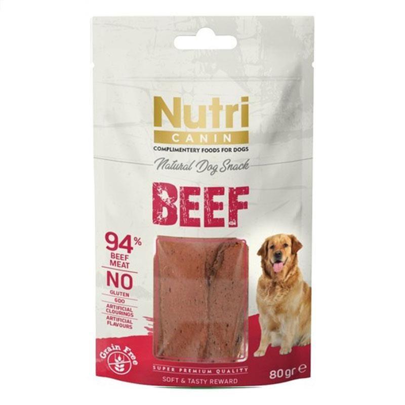 Nutri Canin Beef Snack Köpek Ödülü 80 Gr