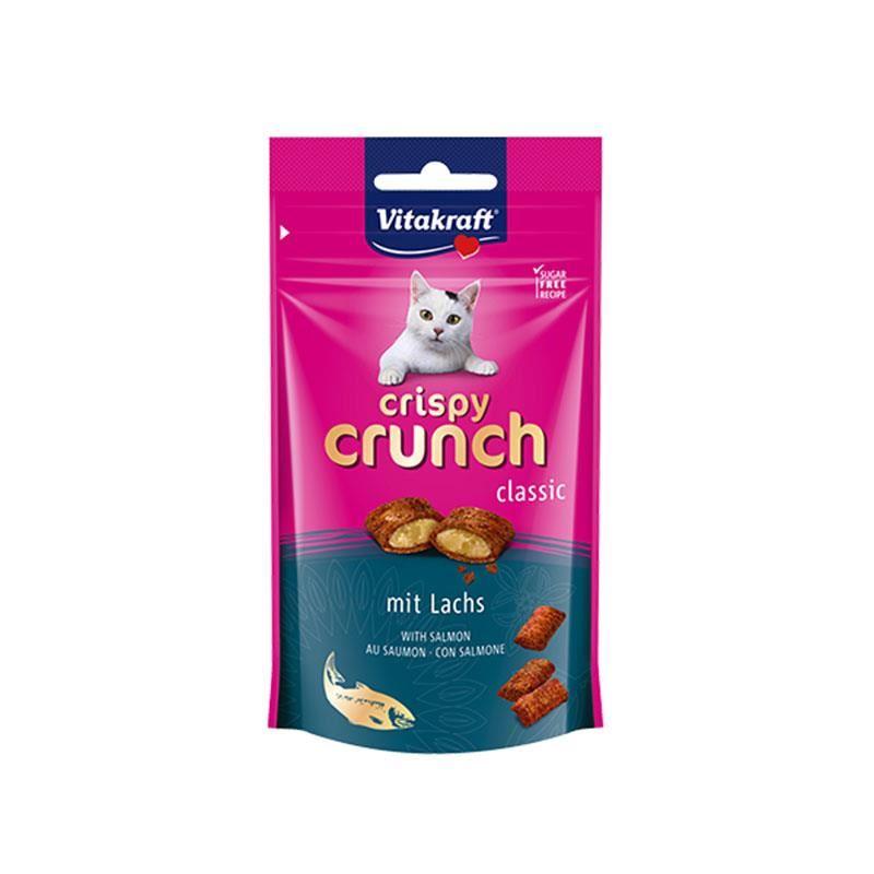 Vitakraft Crispy Crunch Somonlu Kedi Ödülü 60 Gr