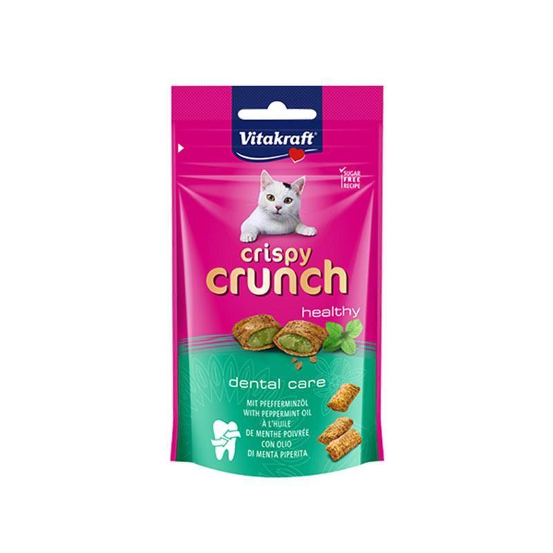 Vitakraft Crispy Crunch Naneli Kedi Ödülü 60 Gr