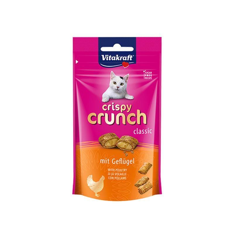 Vitakraft Crispy Crunch Tavuklu Kedi Ödülü 60 Gr