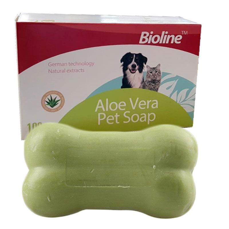 Bioline Aloe Vera Kedi ve Köpek Sabun 100 Gr