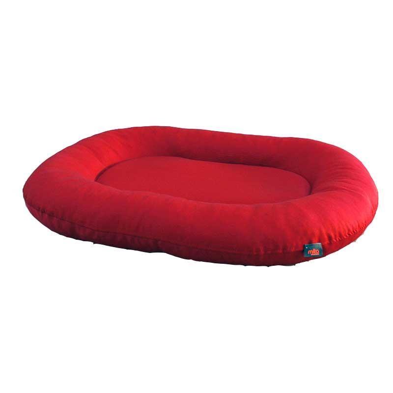 EwoX by Mita Gardenya Pro Kedi ve Köpek Yatağı 80x60cm Kırmızı