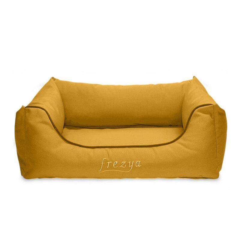 EwoX by MITA Frezya Eko U Kedi Köpek Yatağı 90x70cm Sarı