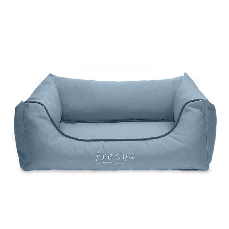 EwoX by MITA Frezya Eko U Kedi Köpek Yatağı 50x35cm Mavi
