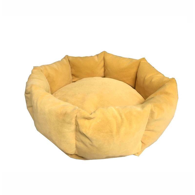 EwoX by Mita Juliet Kedi Köpek Yatağı 60x60cm Sarı