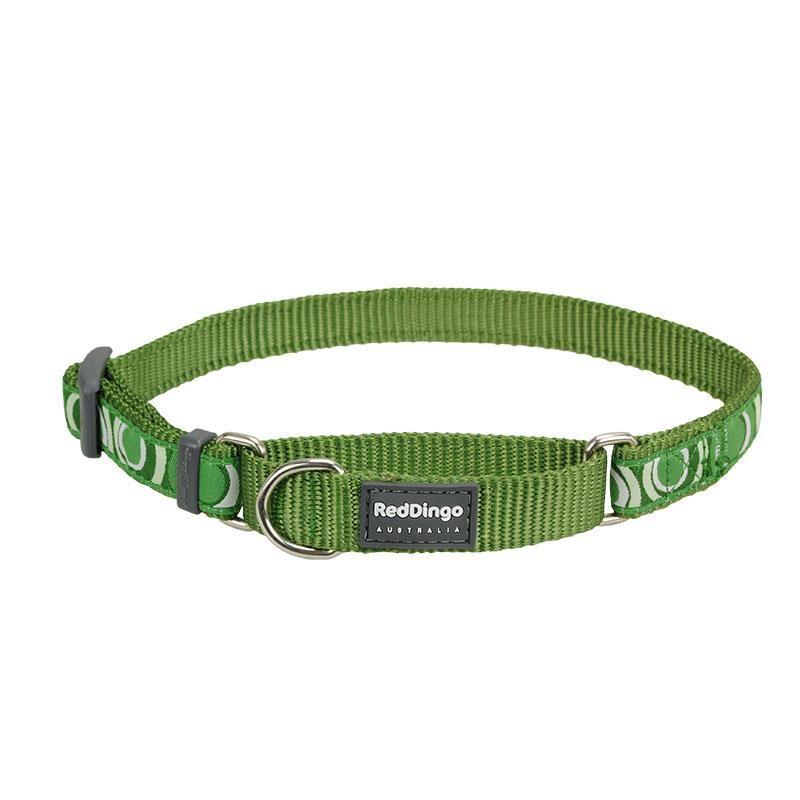 Reddingo Circadelic Desenli Yeşil Köpek Boyun Eğitim Tasması 20 Mm