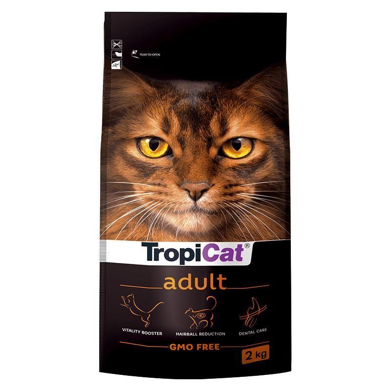 TropiCat Premium Tavuklu Yetişkin Kedi Maması 2 Kg