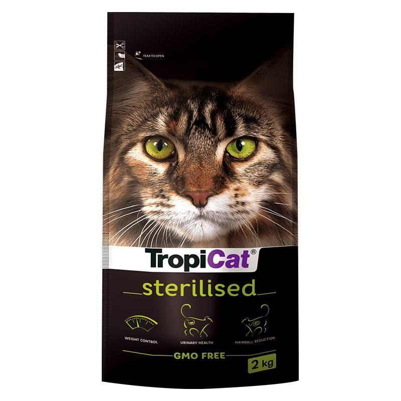 TropiCat Premium Tavuklu Kısırlaştırılmış Kedi Maması 2 Kg