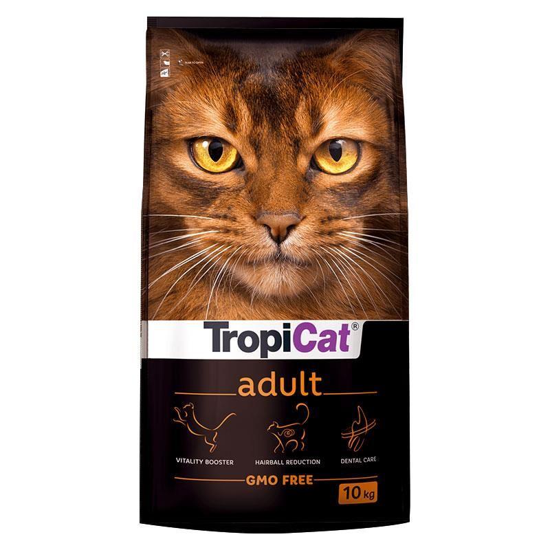 TropiCat Premium Tavuklu Yetişkin Kedi Maması 10 Kg