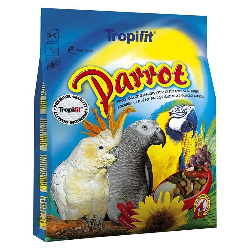 Tropifit Parrot Papağan Yemi 1 kg