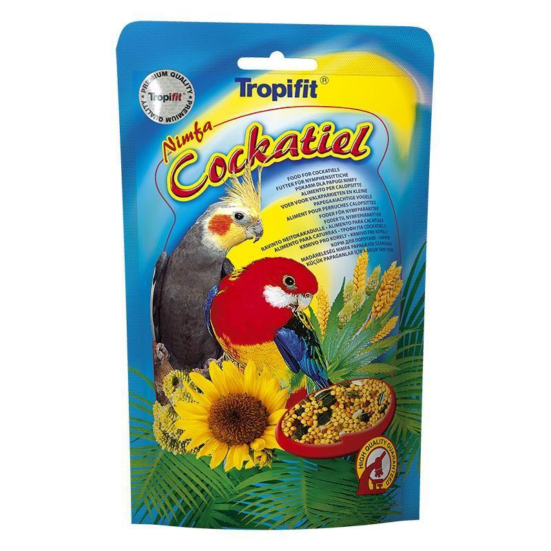 Tropifit Cockatiel Paraket Papağan Yemi 700 gr