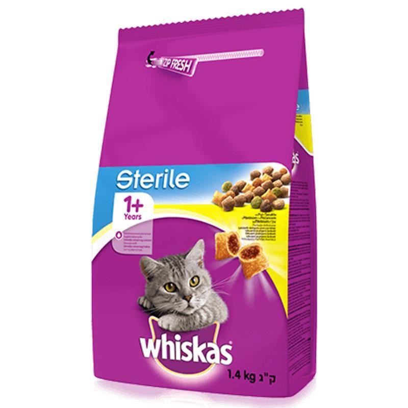 Whiskas Sterile Kısırlaştırılmış Kedi Maması 1,4 Kg