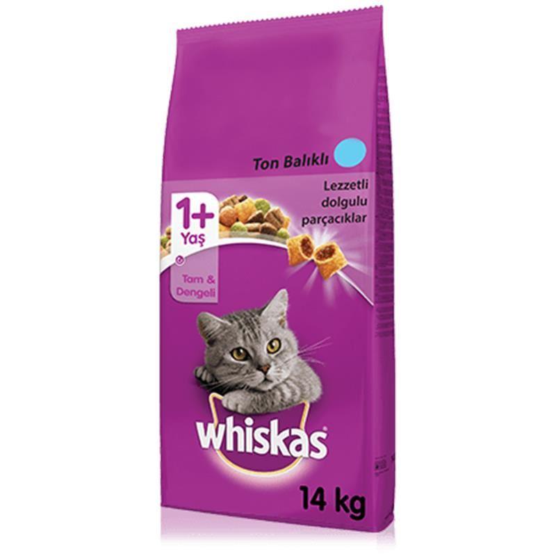 Whiskas Ton Balıklı Sebzeli Kedi Maması 14 Kg