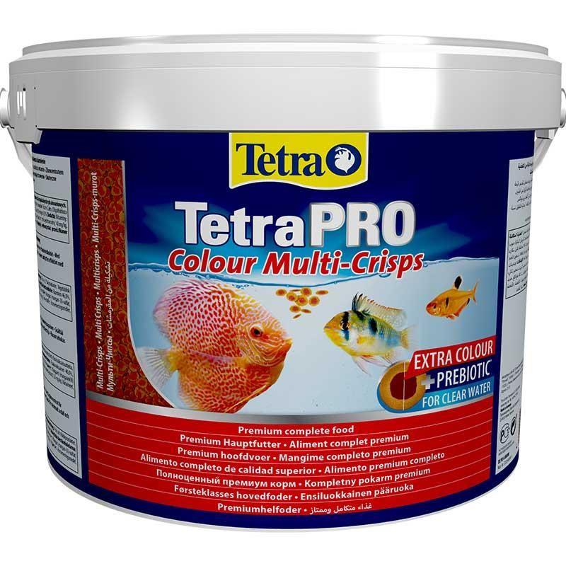 Tetra Pro Colour Crisps Balık Yemi 10 Lt