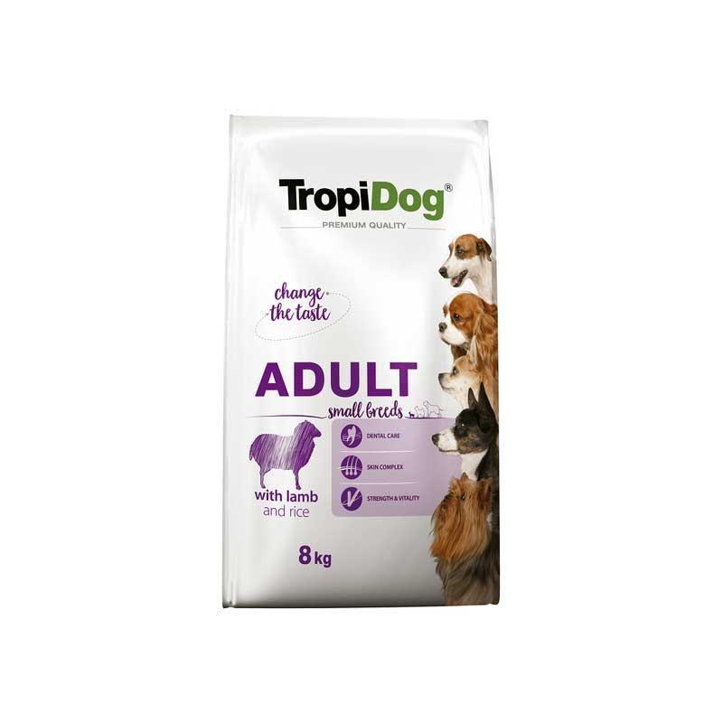 Tropidog Small Kuzu Etli Yetişkin Köpek Maması 8 kg