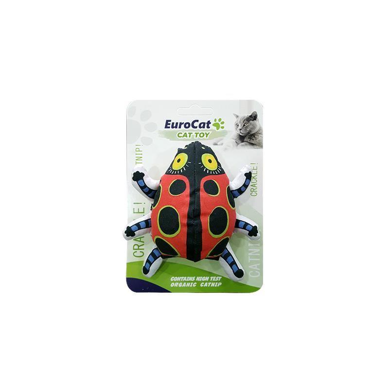 EuroCat Kedi Oyuncağı Uğur Böceği 10 Cm