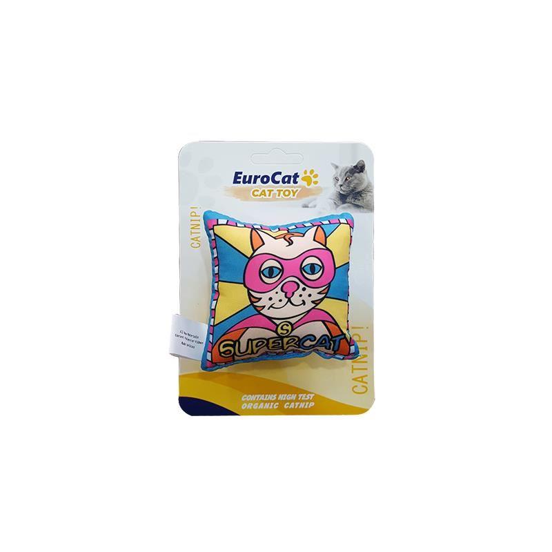 EuroCat Kedi Oyuncağı Süpercat Yastık 8 Cm