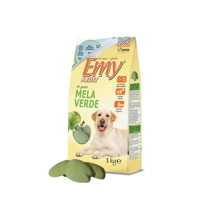 Emy Fruit Mela Verde Yeşil Elmalı Köpek Ödülü 1 Kg