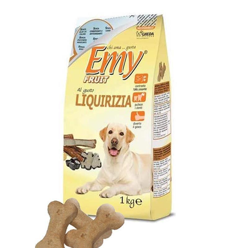 Emy Fruit Liquirizia Meyan Kökü Aromalı Köpek Ödülü 1 Kg