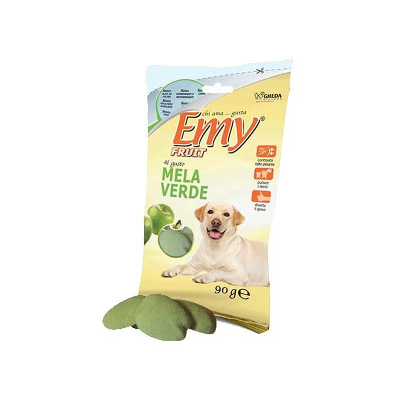 Emy Fruit Mela Verde Yeşil Elmalı Köpek Ödülü 90 Gr