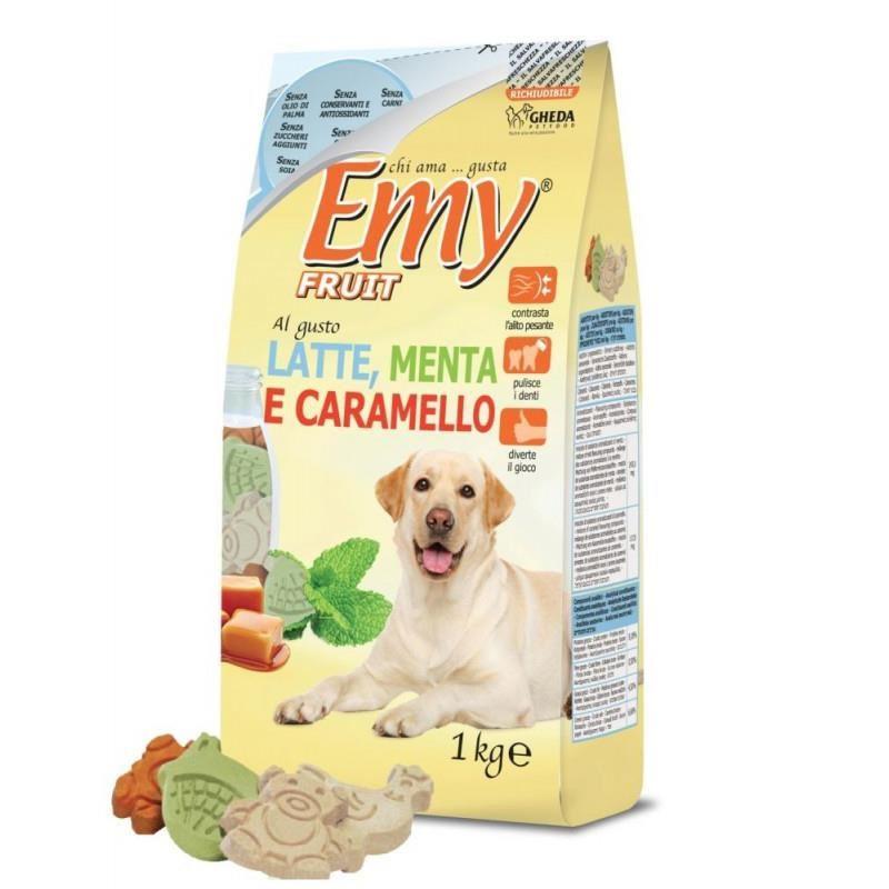 Emy Fruit Latte Menta E Carmello Nane Karamelli Köpek Ödülü 1 Kg