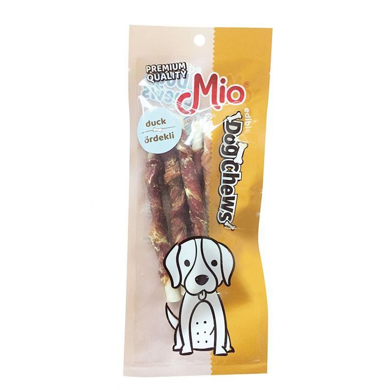 Mio Ördekli Burgu Çubuk Köpek Çiğneme Kemiği 12cm x5 12gr