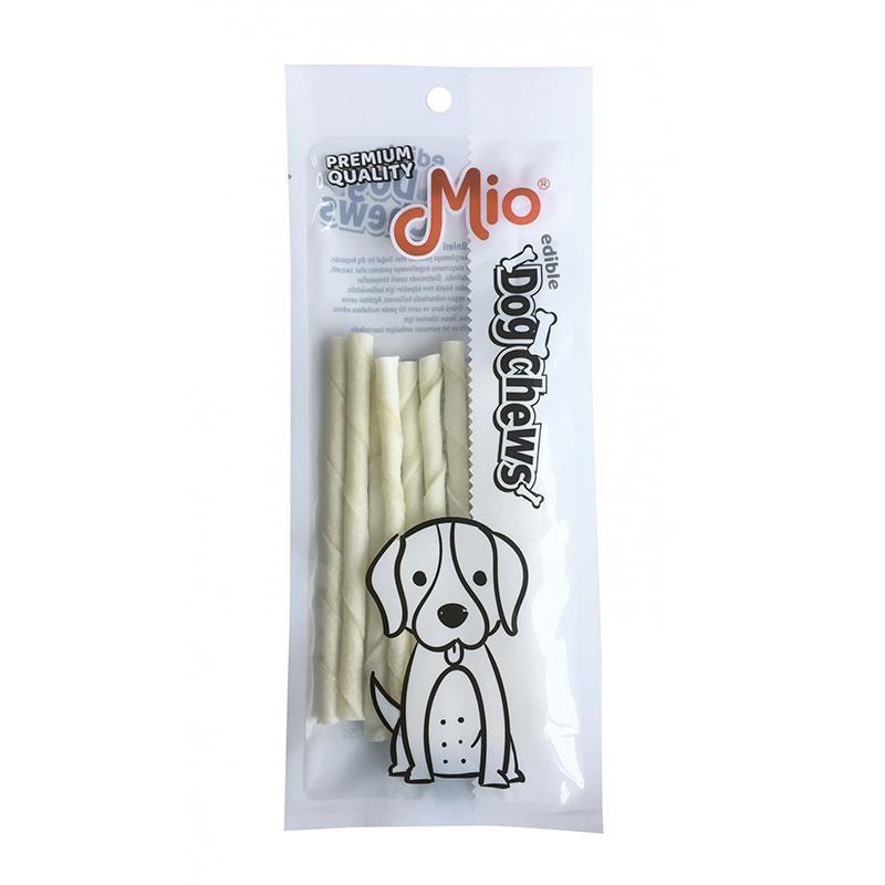 Mio Beyaz Burgu Çubuk Köpek Kemiği 12cm x10 5gr