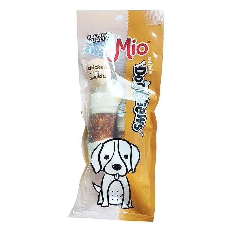 Mio Tavuklu Düğümlü Köpek Çiğneme Kemiği 11cm x2 30gr