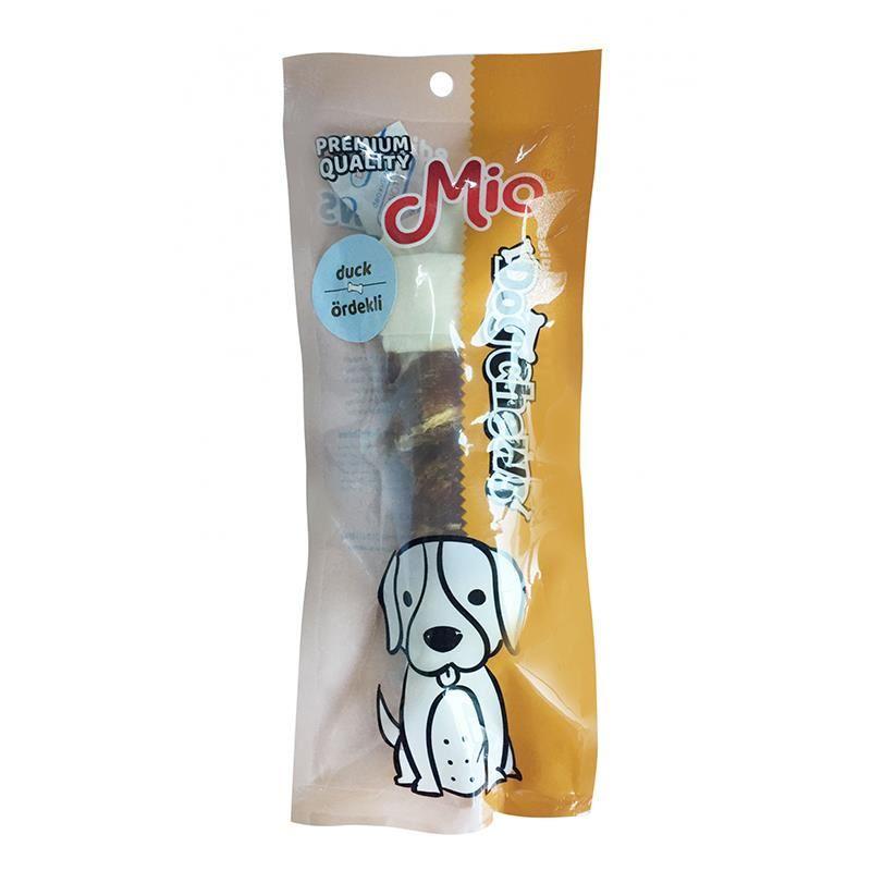 Mio Ördekli Düğümlü Köpek Çiğneme Kemiği 15cm 70gr